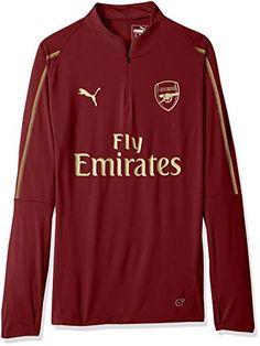 New PUMA Men s Arsenal Fc 1 4 Top Zipped Pocket online a621c8c9ae64