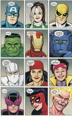 marvel characters describing wolverine