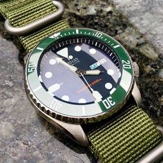 2nd Seiko Hulk of the month • For my army buddy and long time friend @dasmondsm, thank you for your support and see you again soon during the Aug training • Seiko SKX009, Sub Green Ceramic, Sapphire Double Dome & Zulu Strap