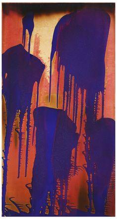 """Yves Klein: """"Peinture feu couleur sans titre (FC 3)"""", ca. 1962"""