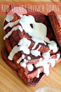 Red Velvet French Toast