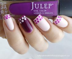 Will Paint Nails for Food: Dot Manicure With Julep Ava and Bette