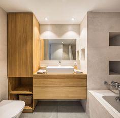 Bathroom Lighting, My House, Bathtub, Vanity, Mirror, Valencia, Furniture, Design, Home Decor