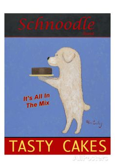 Schnoodle Tasty Cakes Limited Edition by Ken Bailey at AllPosters.com