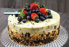 Maková torta bez múky - Poppy Seed Cake without Flour Healthy Cookies, Healthy Dessert Recipes, Healthy Baking, Cake Recipes, Birthday Cakes For Men, Sweet Cakes, Pretty Cakes, Cake Cookies, No Bake Cake