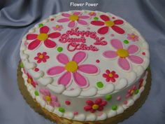 decorated cake | Flower Cakes, Birthday Cakes and Cupcake ideas. - Cake Decorating ...