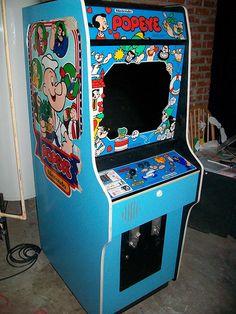 popeye arcade game