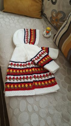 Afghan Stitch, Tunisian Crochet, Girls Dresses, Ftm, Baby Set, Blanket, Knitting, Holiday Decor, Fabric