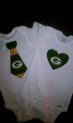 Green Bay Packers NFL Football Baby Infant Newborn Onesie Creeper ...