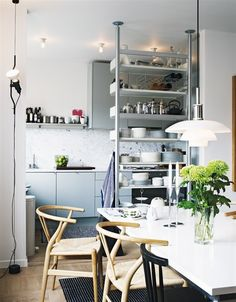 From Scandinavia with love - design & style (The home of Swedish photographer Jonas Ingerstedt.)