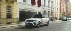 RANGE ROVER CUSTOMERS OFFERED THE PERSONAL TOUCH WITH NEW SVO DESIGN PACK