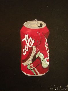 coke can/acrylic