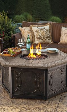 Linger a Little Longer: Cool Fall Evenings Call for a Warm Fire. Click to see our favorite picks on the blog!