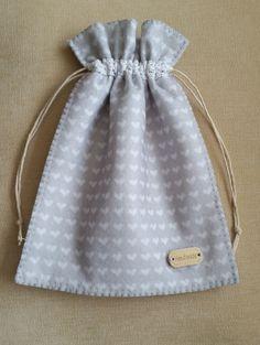 Hand stitched, felt drawstring Gift Bag £5.00