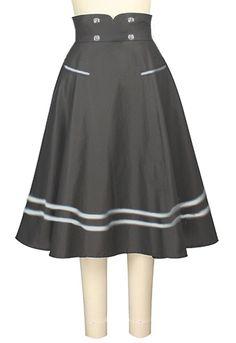 Retro Sailor Skirt