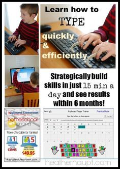 If you want your children to learn important keyboard typing skills, Keyboard Classroom is a quick and efficient way to do it!
