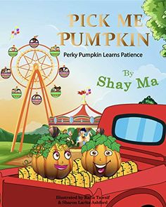 Now on Kindle Join Perky Pumpkin at the Pumpkin Patch. It's where people pick their pumpkin match. Perky is a precocious pumpkin. When he notices other pumpkins are being picked except him, he feels anxious. How will Perky learn to wait and be patient? Enjoy this Holiday book written by Best-Selling author Sharon Larita Ashford.