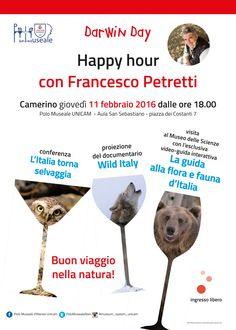 Università di Camerino giovedì 11 febbraio ore 18.00 Happy Hour Dante Alighieri, Happy Hour, Tableware, Dinnerware, Dishes