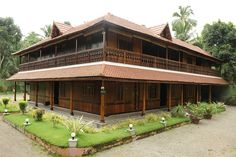 A wooden Palace and a concrete outhouse(35 cent)Route: Karmana- Pappanamcode-Malayinkeezhu. 12Km from Trivandrum City-Railway station & Bus stand. 6000sq.ft completed Wooden Palace- Two storied building