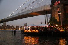 River Cafe in Brooklyn Fulton Ferry Landing