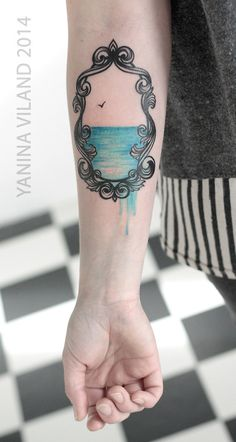 Framed tattoo - absolutely beautiful