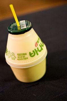 바나나맛 우유; Banana Milk