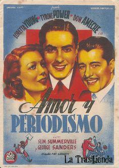 Programa de Cine - Amor y Periodismo
