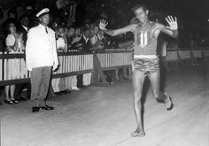 "Ethiopian Abebe Bikila won the 1960 Olympic marathon in a record time of 2hours, 15minutes and 16seconds. He was the first Sub-Saharan African to win an Olympic gold medal. After the race, when Bikila was asked why he had run barefoot, he replied: ""I wanted the world to know that my country, Ethiopia, has always won with determination and heroism."""