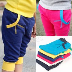 2014 summer boys clothing girls clothing baby child capris trousers kz-1603 $8.10
