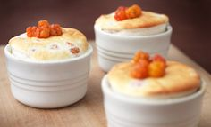 Cloudberry Souffle My favorite berries!
