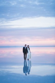 Gorgeous bride Heater and renowned BMX rider Ethen hired Tony Gambino to capture their Salt Lake City wedding and an epic shoot at Bonneville Salt Flats. Salt Lake City, Bolivia, Engagement Pictures, Wedding Pictures, Wedding Shoot, Dream Wedding, Wedding Ideas, Wedding Dresses, Wedding Photoshoot