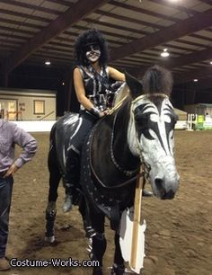 Kiss Horse - Halloween Costume Contest.  This made me happy today :)