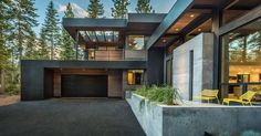 Just liked this Pin: This home designed as a secluded and relaxing environment for a family has plenty of outdoor room and combines wood with black elements for a dramatic color palette. http://ift.tt/2j5ICul