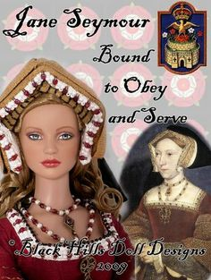 Tudor Dolls -- Jane Seymour