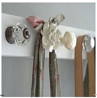 coat rack on the wall