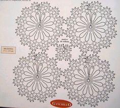 Colchas y adornos para camas - nany.crochet - Álbumes web de Picasa