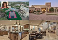 The former governor of Alaska has put her equestrian estate in Arizona on the market. The contemporary Tuscan-style main house boasts nearly 8,000 square feet of luxury and includes 6 bedrooms, 6.5 baths and mountain views. Palin bought the home in 2011 for $1.7 million