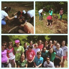 Lionheart students had a great time spending the day with students from The Westminster Schools at Lionheart Gardens!