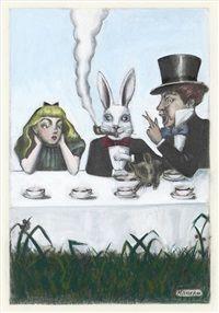 Alice in Wonderland by Kuniyoshi Kaneko (1973)