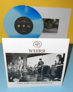 "WHIRR Part Time Punks Sessions 7"" RSD record store day BLUE Vinyl"