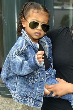 When ur style icon is literally 3 years old.