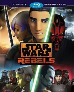 Star Wars Rebels: The Complete Season 3 [Blu-ray]