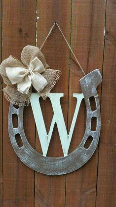 horseshoe initials