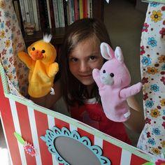 Des pistes et des idées pour mettre en scène un théâtre de marionnettes avec des enfants !!!