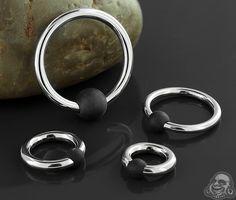 Steel rubber ball captive