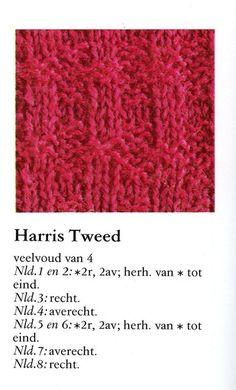 Harris tweed 001 - Breisteken