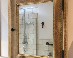 WIMBLEDON Reclaimed Bathroom Vanity Cabinet. Wooden | Etsy Timber Bathroom Vanities, Reclaimed Wood Bathroom Vanity, Wooden Vanity, Bathroom Vanity Cabinets, Bathroom Medicine Cabinet, Reclaimed Timber, Street Furniture, Towel Rail, Wimbledon