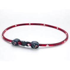 Houston Texans Titanium Core Sport Necklace  21 Inch *** You can get more details by clicking on the image.