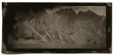 Dark day by a mountain lake. Mountain, Plates, Dark, Photography, Painting, Licence Plates, Dishes, Photograph, Griddles