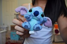 Tiny Stitch plush ♡ Too cuteee! Chain Messages, Tumblr Quality, Days Till Christmas, Ohana Means Family, Tumblr Stuff, Lilo And Stitch, Disney Stitch, Cutest Thing Ever, Favim